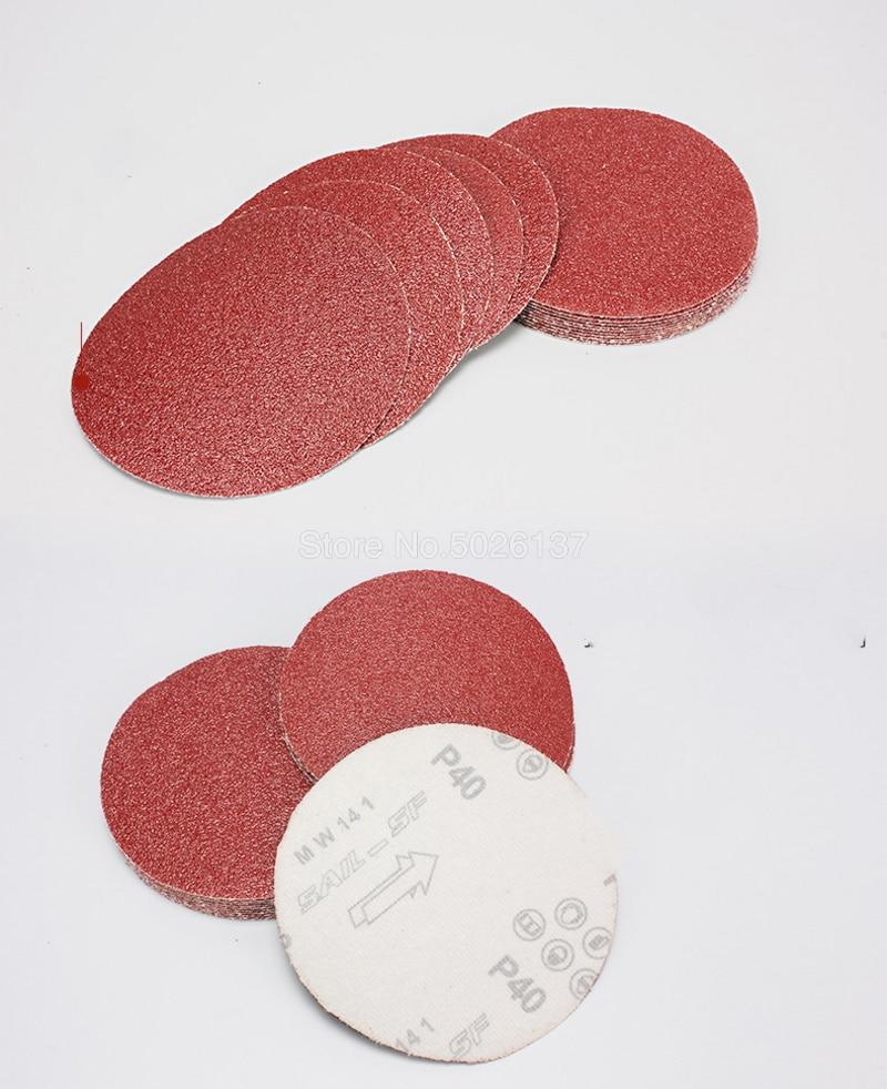 1 pz 5 pollici 125mm rotondi dischi di carta vetrata fogli di sabbia - Utensili abrasivi - Fotografia 4