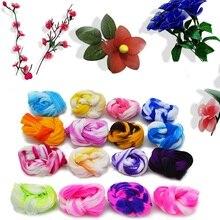5 pièces dégradé de traction en Nylon bas fleurs bricolage faisant du matériel à la main artisanat accessoire mariage maison bricolage en Nylon fleur