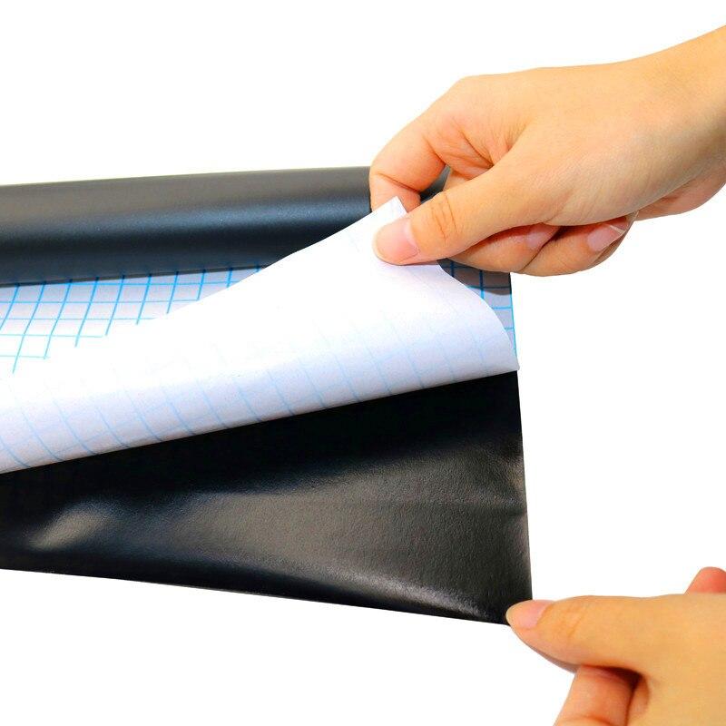 Pizarra adhesiva extraíble de 45x100cm, pizarra borrable de vinilo para aprendizaje, tablón de anuncios de oficina, tablero de mensajes, 1 unidad