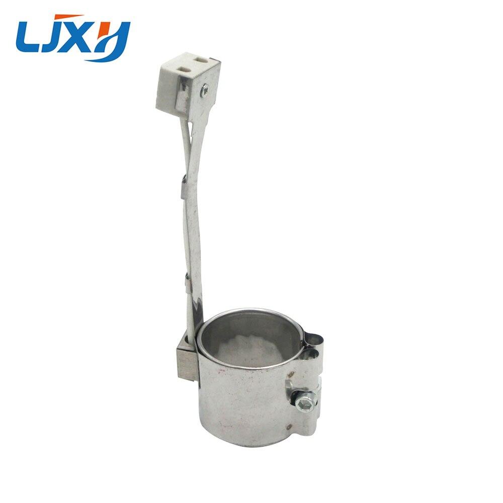 Calentador de banda industrial eléctrica de acero inoxidable LJXH, 45x25mm/30mm/35mm/40mm, 110V/220V, 170W
