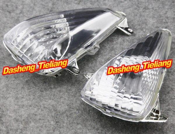 Luces intermitentes delanteras para motocicletas, 2 uds., luz indicadora, cubierta de lente transparente intermitente para Honda CBF600S VARADERO 1000 2004-2016