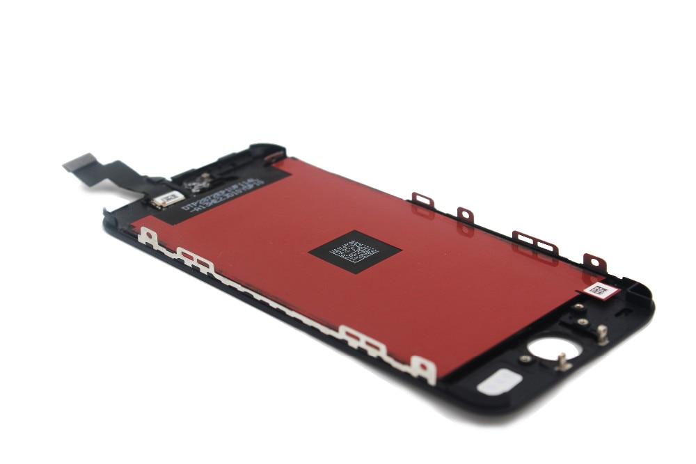 Sprzedaż fabryki lcd dla iphone 5 iphone 5c iphone 5s ekran Wyświetlacza Część Szklany Panel Dotykowy Digitizer Zgromadzenie Kompletna Narzędzia ekran 14
