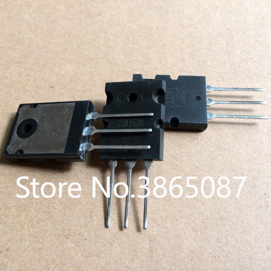 2 uds 2SK1530 + 2 uds 2SJ201 TO-3PL MOSFET TRANSISTOR MOS FET tubo 4 uds/lote ORIGINAL nuevo