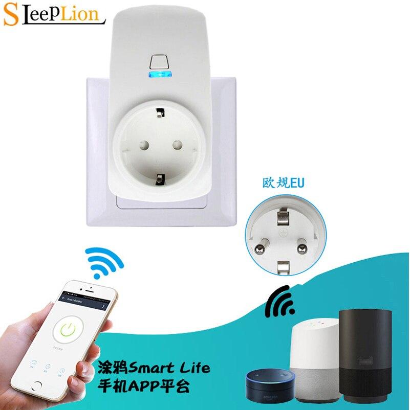 110 V-220 V UE/EUA/UK Plug Soquete de Energia Inteligente WIFI Tempo de Controle APLICATIVO de Telefone Sem Fio inteligente Plugue Wi-fi Tomada