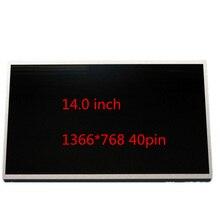14.0 écran LCD pour ordinateur portable LTN140AT02 LTN140AT07 B140XW01 N140B6 numériseur LTN140AT16 LP140WH4