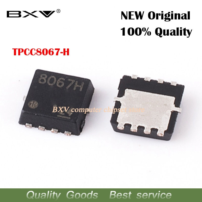 5 uds TPCC8067-H TPCC8067H TPCC8067 8067H MOSFET QFN-8 original nuevo envío gratis