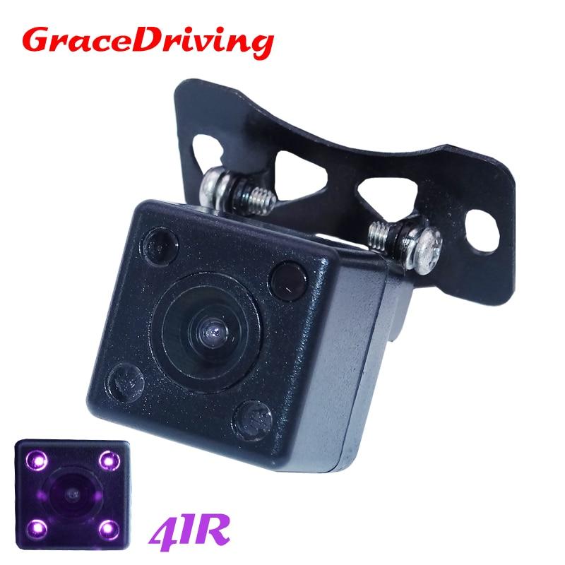 Новая водонепроницаемая CCD Универсальная HD камера заднего вида, парковочная камера заднего вида, бесплатная доставка