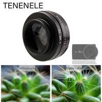 Фильтр TENENELE для экшн-камеры Xiaomi yi Lite 4K, аксессуары 12,5x, Макросъемка, фильтры для камеры Xiaomi Yi 4K + Plus, 37 мм