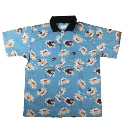 Nueva camiseta de manga corta para hombre de golf Sunflower bee Le Fleur Tyler the Creator de algodón con bolsillo de alta calidad # AB5