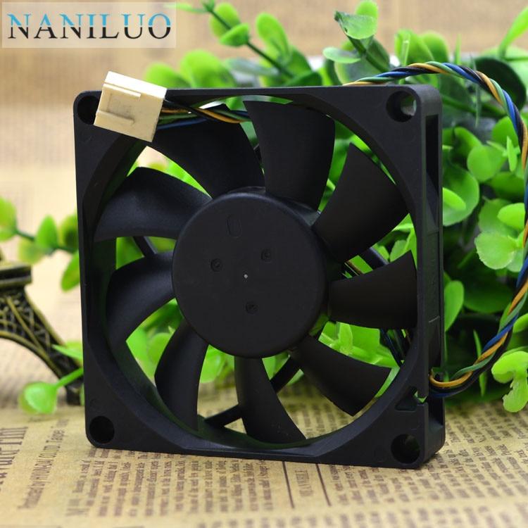NANILUO EFB0812HHB 8 см 80 мм 8*8*1,5 см 80*80*15 мм 8015 12 В 0.4A четырехпроводной вентилятор ШИМ