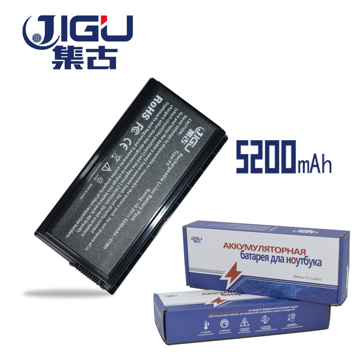 JIGU High Capcity New Laptop Battery For ASUS X59 X59G X59GL X59S X59SL X59SR A32-F5