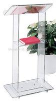 Free Shipping Beautiful Simplicity Cheap Acrylic Podium Pulpit Lectern podium