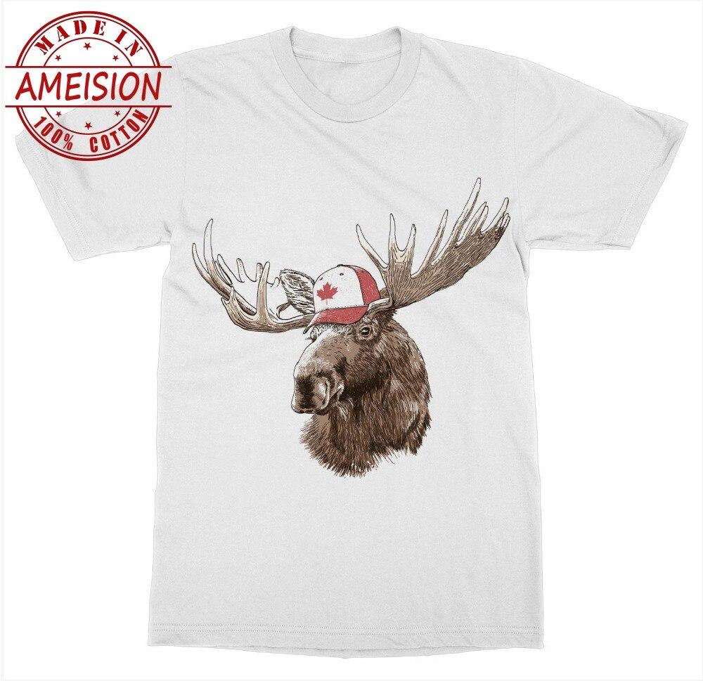 Venta caliente camiseta para hombre moda Canadá Moose camiseta Canadá día canadiense True North Beaver Oso Polar hoja de arce verano de hombre tlife Tops
