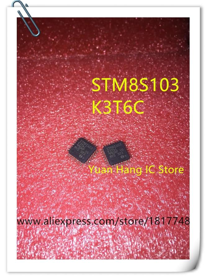 10 pcs 100% NIEUWE ORIGINELE STM8S103K3T6C STM8S103K3T6 STM8S103K3 STM8S103 STM LQFP32