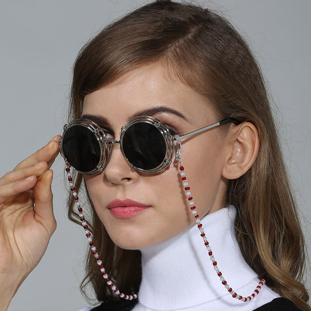 2020 novo 1 pc moda feminina anti-deslizamento óculos de leitura óculos de sol corrente cabo corda titular óculos óculos cinta retentor 3 cores