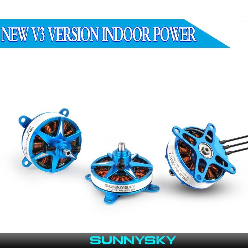 1 peças originais sunnysky x2302 x2304 x2305 2-3s motor sem escova leve para rc asa fixa peças