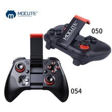 MOCUTE 050 054 VR Game Pad Joystick Android Controller Bluetooth Selfie telecomando Gamepad per PC telefono Android TV + supporto