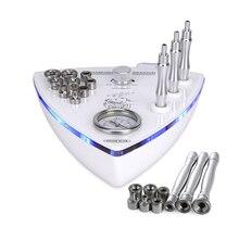 3 en 1 multifonction diamant Microdermabrasion peau Machine diamant Dermabrasion soin du visage