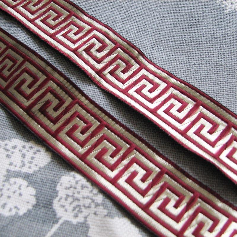 Cinta de encaje tejida con lazo trasero de 3,3 Cm de ancho,...