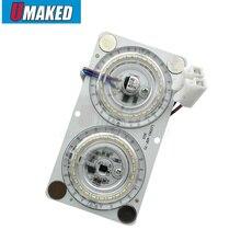 Module de Source de lumière LED mince Ultra lumineux 12 W 24 W 36 W 45 W 220 vFor plafonnier Downlight remplacer lampoule de panneau magnétique accessoire