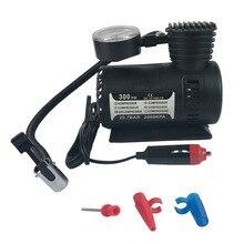 Mew débit rapide compresseur dair Compact 12v voiture électrique Mini compresseur Compact pompe vélo pneu gonfleur dair 300psi