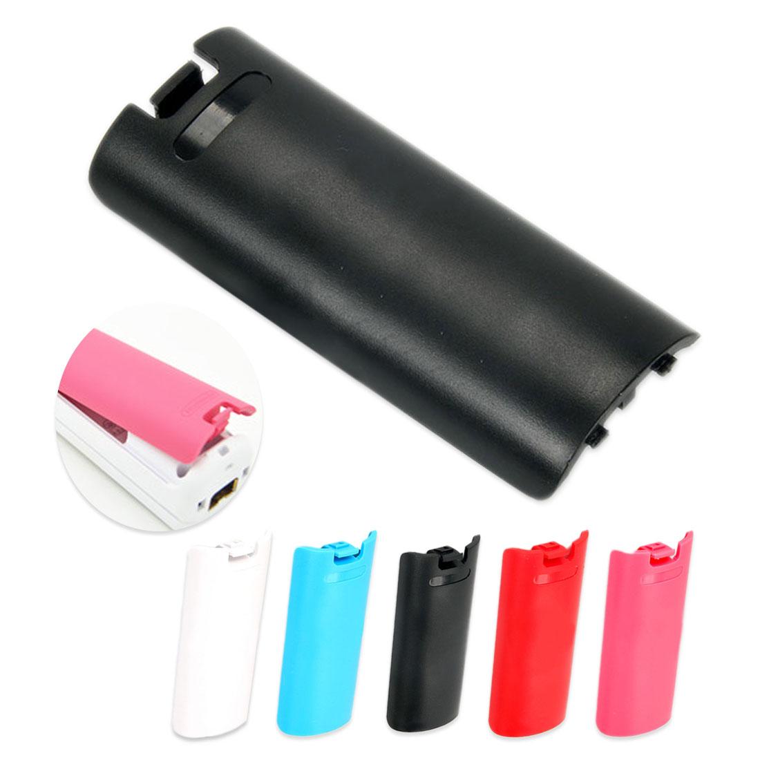 Tapa de batería multicolor, funda trasera para puerta, pieza de reemplazo de carcasa para WII inalámbrico remoto, accesorio controlador de juego