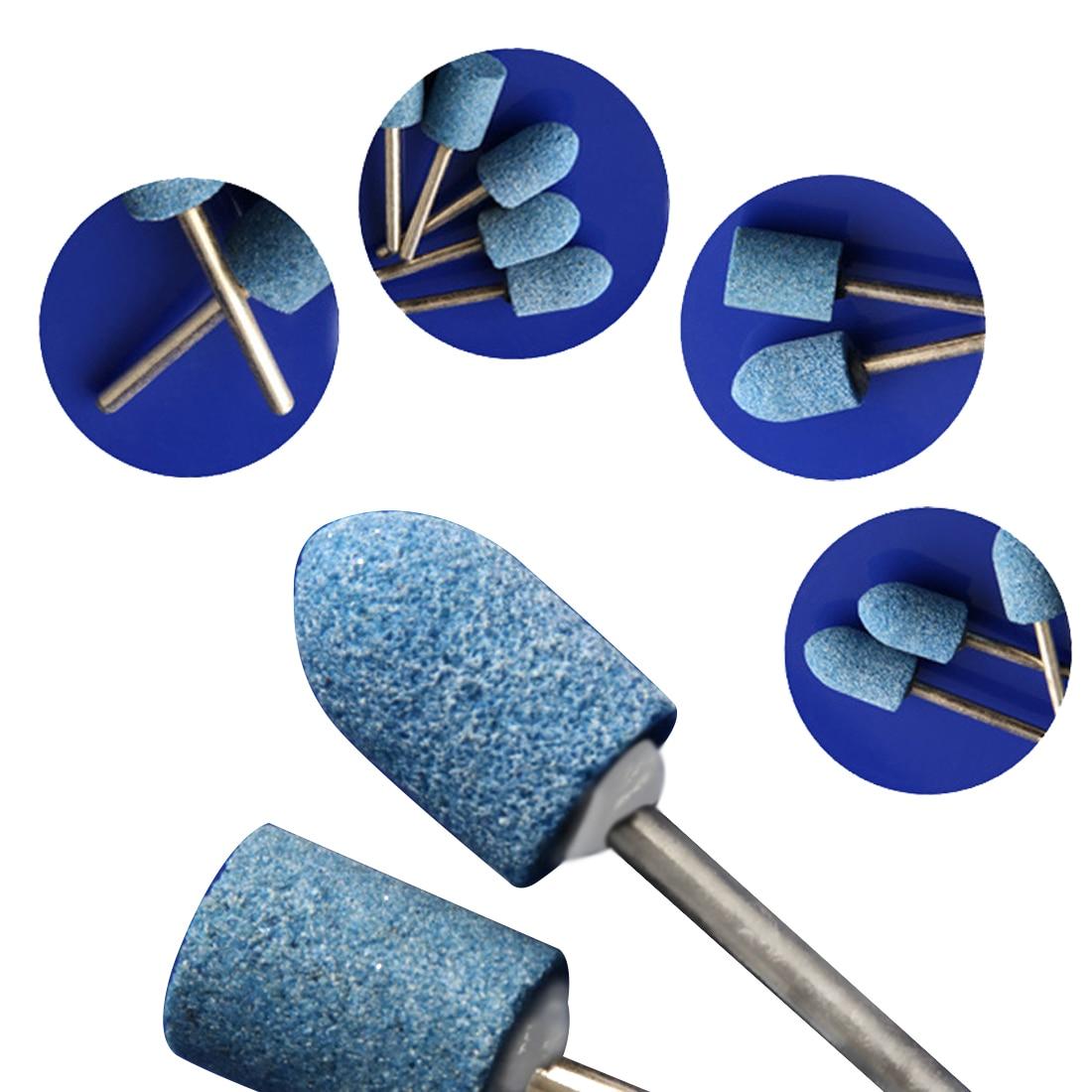 10 vnt. / Komplektas abrazyvinis montuojamas akmuo, skirtas Dremel - Abrazyviniai įrankiai - Nuotrauka 2