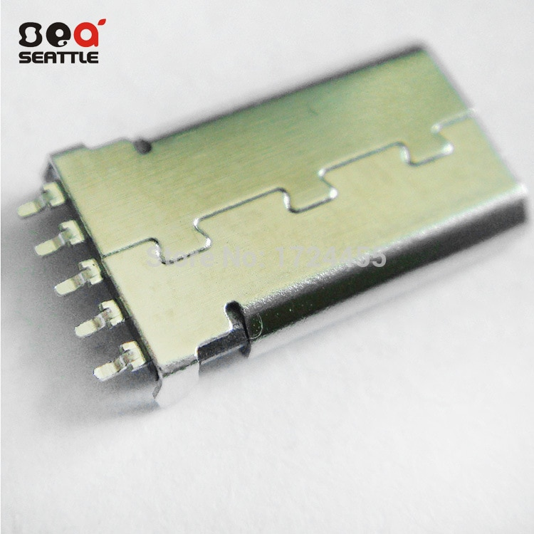 2015 New Micro Usb Connector 10pcs Free Shipping The Latest Electronic Products Micro 5p Connector Plug Patch Usb Otg Mike Smt