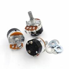5 pièces WH138-1 résistance réglable régulateur de vitesse avec interrupteur potentiomètre WH138-1 B5K B10K B20K B50K B100K B250K B500K
