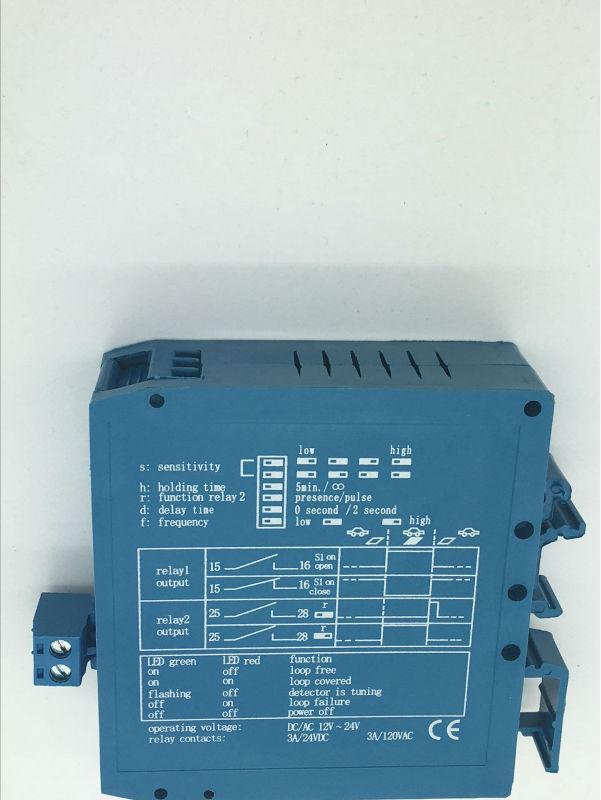 Four class adjustable Dual 12V/24VDC Loop Vehicle Detector Magnetic Autocontrol M1H Signal Control