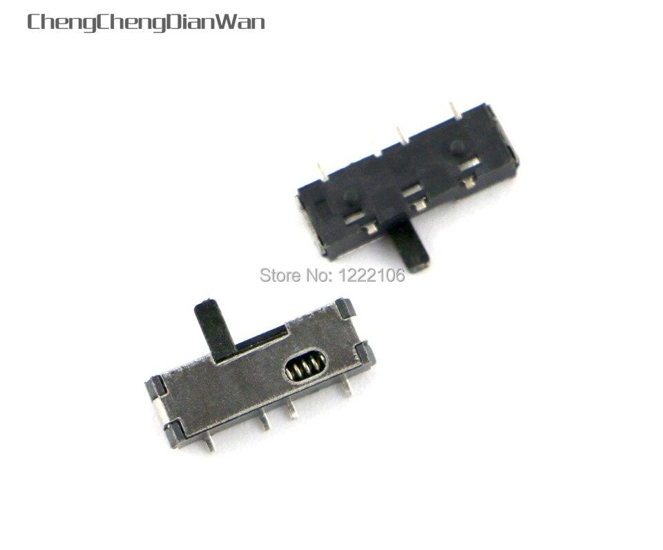 ChengChengDianWan 10 Uds de repuesto para Nintendo DS Lite NDSL interruptor de volumen en botón pieza de reparación