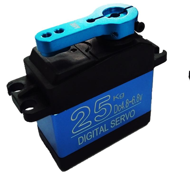 Novo 1 x à prova dwaterproof água servo ds3325mg atualização de alta velocidade metal engrenagem digital servo baja servo 25 kg para 1/8 1/10 escala rc carros brinquedos