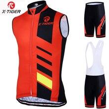 X-tiger 2020 sin mangas bicicleta de montaña ciclismo ropa traje cómodo de carreras de carretera bicicleta ciclismo Conjunto de Jersey para hombres