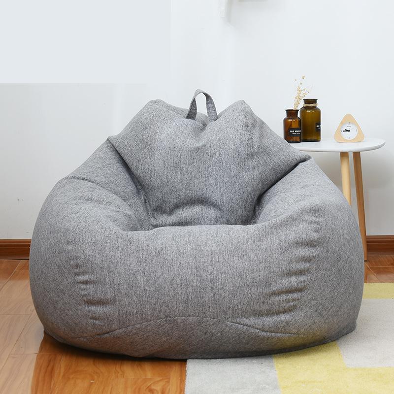 Sofá individual de algodón, Tatami, bolsa de habichuelas cómoda, silla Lazy creativa, sillas, cama y dormitorio