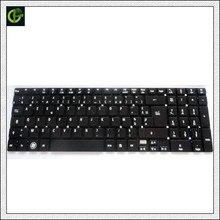 Clavier AZERTY français, clavier AZERTY français, pour packard Bell Easynote MP-10K36F0-698, PK130HQ1A14, MS2397, noir FR