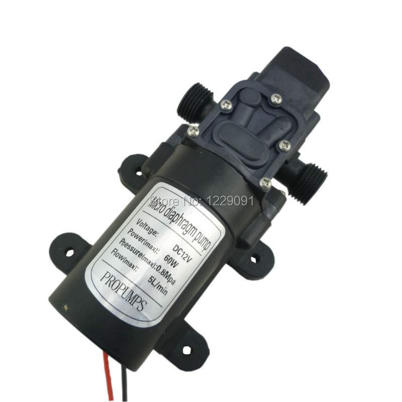 water purifier pure water machine water heater 12v 60w self priming booster pump k3ka dc 12v 24v water pump pressure switch automatic on off 60W 5LPM high pressure self priming diaphragm water pump