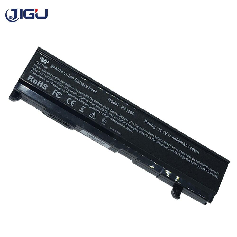 JIGU batería del ordenador portátil para Toshiba PA3465U-1BAS PA3465U-1BRS PABAS069 PA3451U-1BRS PA3451U-1BAS satélite Pro M70 A100 A80 M50 M115