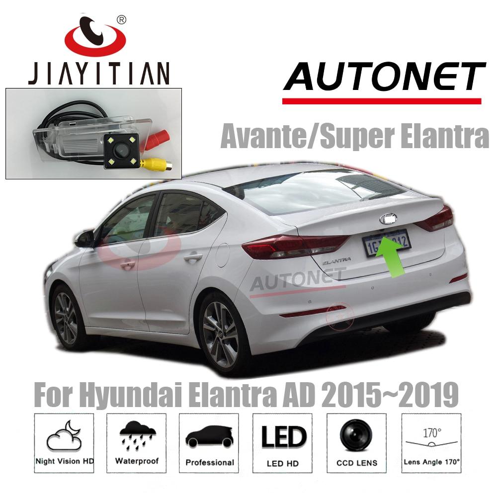 JIAYITIAN камера заднего вида для Hyundai Elantra AD/Avante/super Elantra 2015 ~ 2019 MK6 CCD камера заднего вида