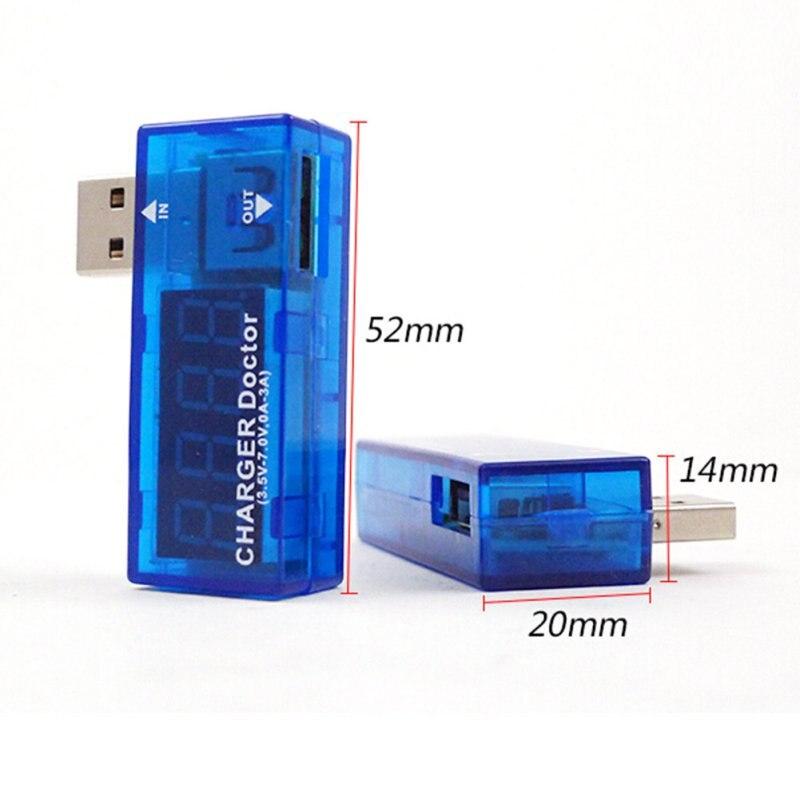 USB батарея тестер 3 в-7,5 в Voltimetro цифровой мобильный детектор напряжения измеритель тока Amperimetro Homekit