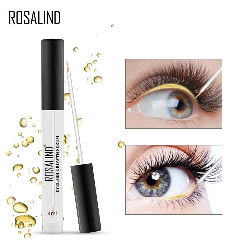 ROSALIND Eyes Sérum para el crecimiento de las pestañas levanta el crecimiento del cabello más largo más grueso para el crecimiento de las pestañas laminación de pestañas