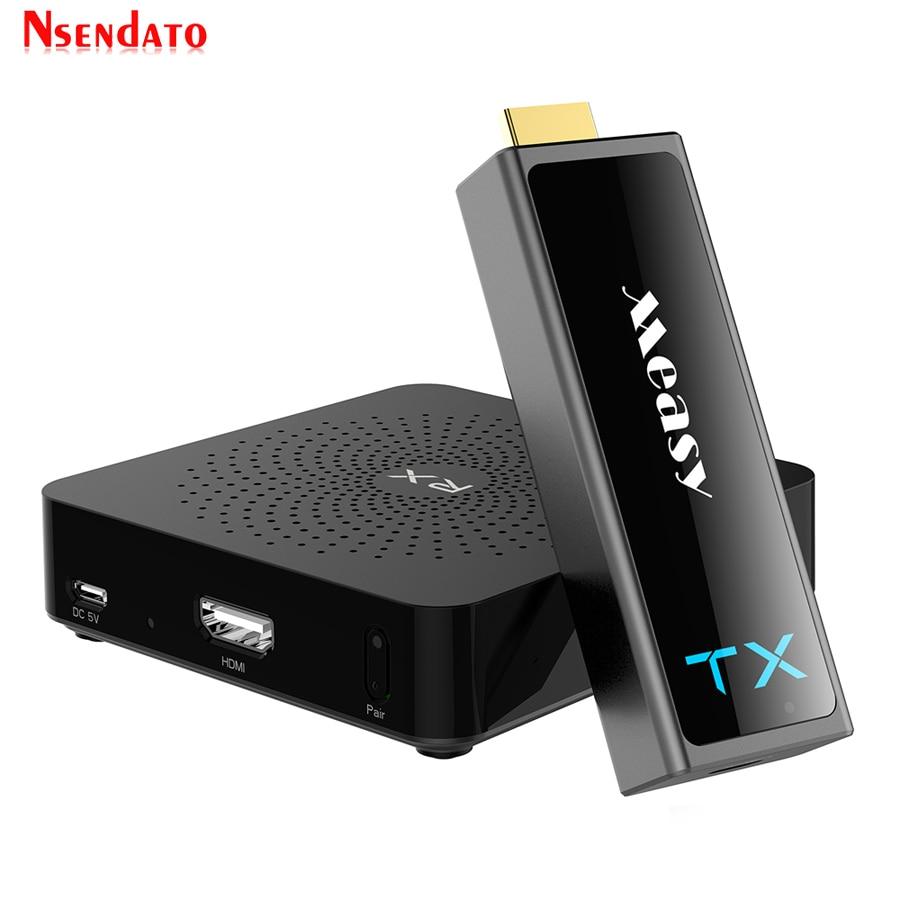 W2H Mini II 2 inalámbrico HDMI transmisor receptor extensor 1080P 3D 30M transmisor de Audio inalámbrico receptor para HDTV