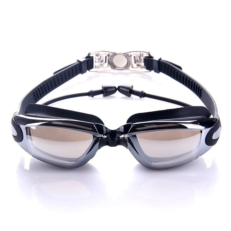 Óculos de Proteção Óculos de Natação Óculos de Revestimento à Prova Água Sportswear Anti-fog Proteção Óculos d' Mergulho Surf Natação Piscina Gla uv