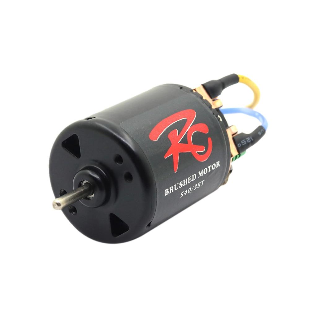 Impermeable RC 540 21/27/35/45/55/80 t Motor sin escobillas w/60A ESC para RC Rock Crawler de alta calidad RC piezas de coche A611