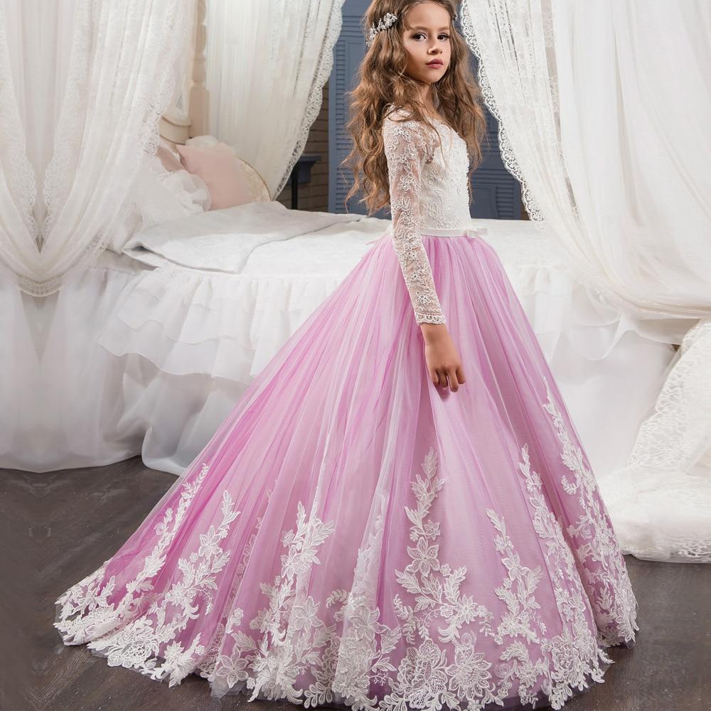 Красивые Длинные Платья Детские