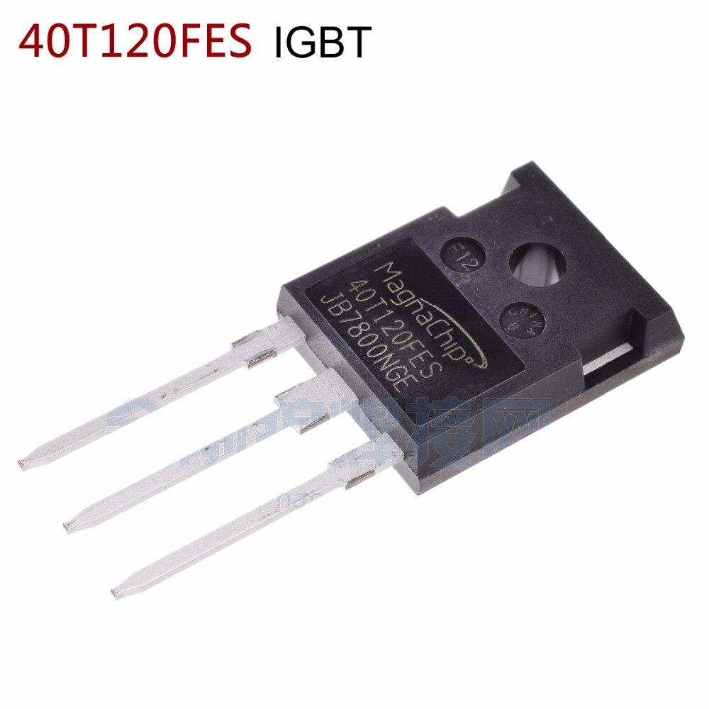 Magnechip de envío gratuito 40T120FES, puede en lugar de tubería IGBT, todos los componentes nuevos (10 piezas)