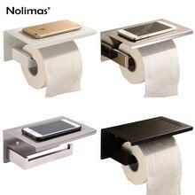 SUS304 papier poli et noir pour porte de salle de bains   En avec étagère de téléphone