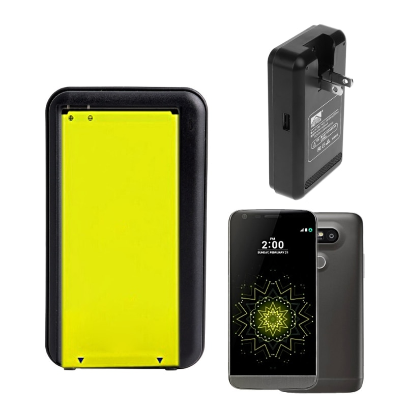 Adaptador de cargador de viaje de pared USB externo inteligente enchufe de EE. UU. Para LG G5