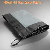 Ecran de retroprojection Portable et pliable en tissu  100 pouces  4 3  pour Home cinema en exterieur
