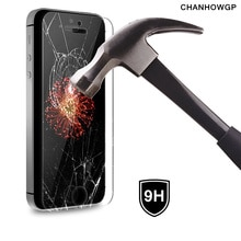 Prémio Temperado Tampa De Vidro Para O iphone X XS Max XR 10 8 7 6 plus 6 s Plus 5 5S 5C SE Protetor de Tela no iphone 4 4S 6 s 6 7 Caso