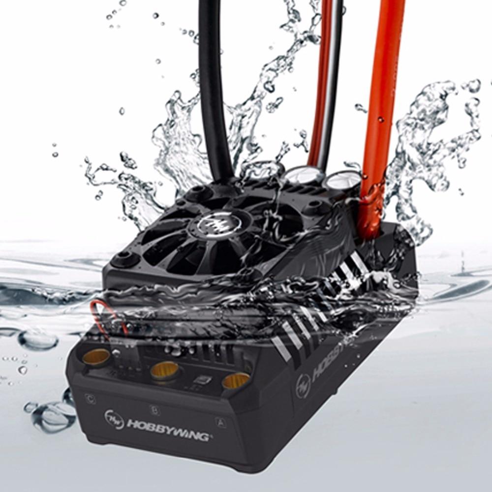 Hobbywing EzRun 56113SL 800KV Motor sin escobillas 3-8S MAX5 sin escobillas ESC 200A a prueba de agua ESC construido en BEC para coche RC 1/5